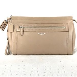 Coach Legacy Clutch - Khaki Color